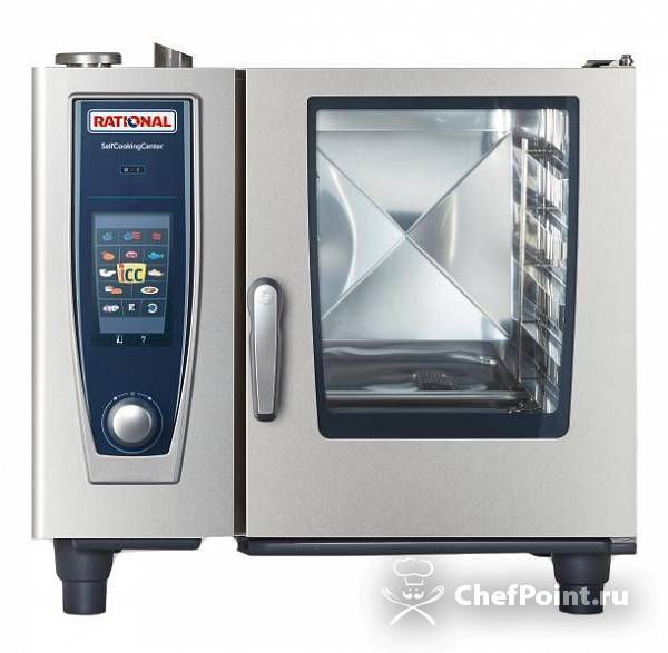 Картинка Пароконвектомат Rational Self Cooking Center SCC 61 Gas