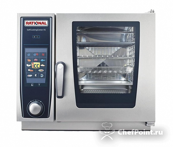 Картинка Пароконвектомат RATIONAL Self Cooking Center XS 6 2/3
